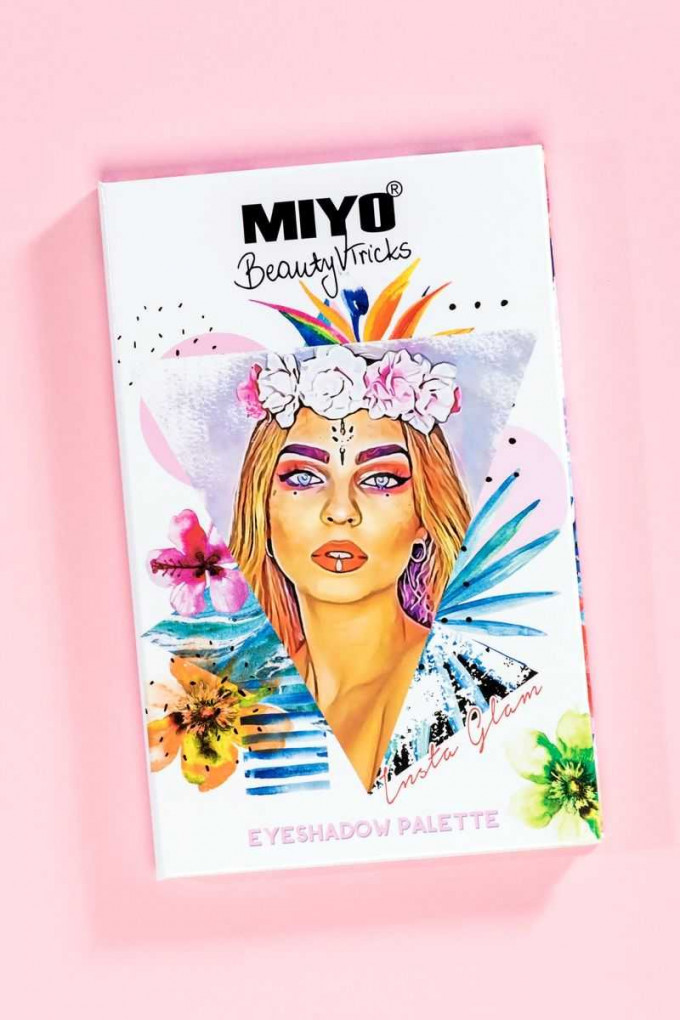 EYESHADOW PALETTE Miyo x BeautyvTricks