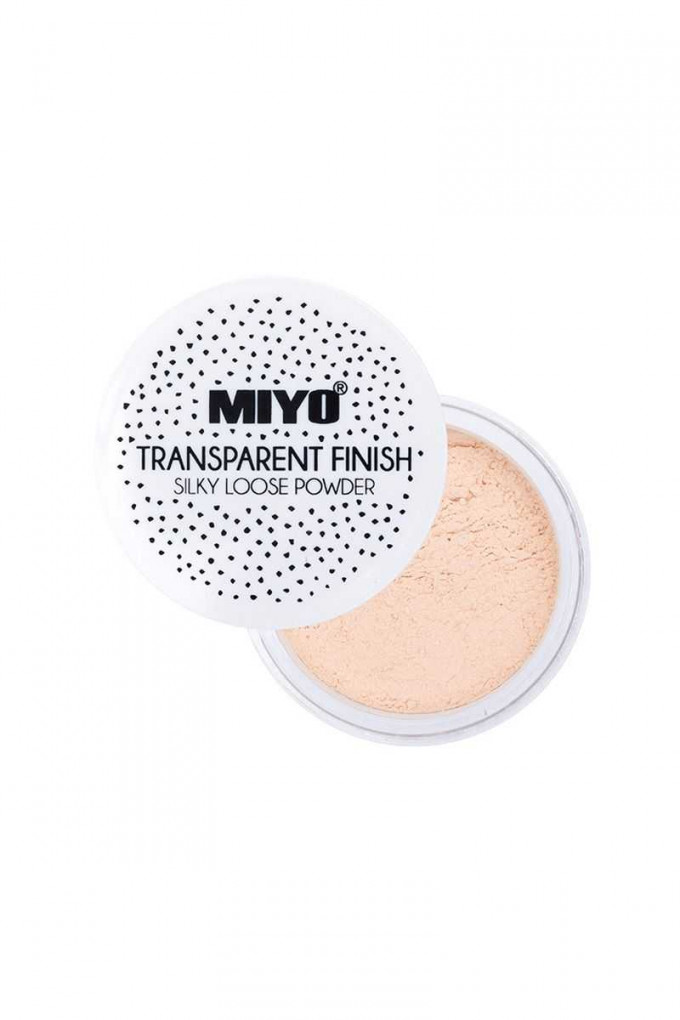TRANSPARENT FINISH LOOSE POWDER