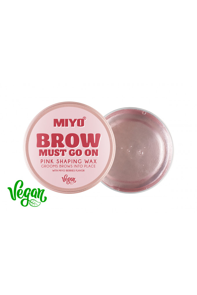BROW MUST GO ON