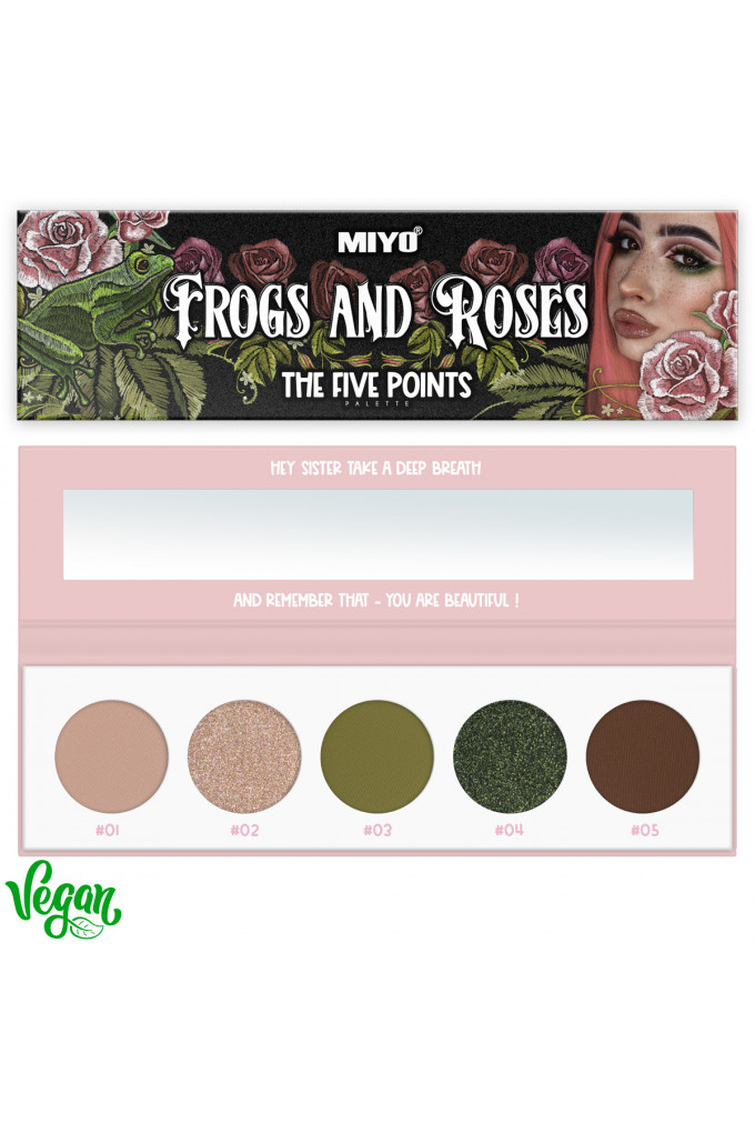 Five Points Palette FROGS AND ROSES no.32